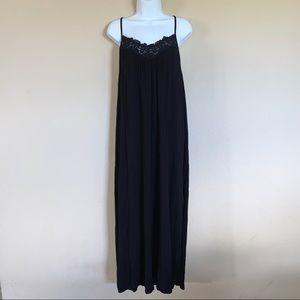 Forever 21 + black maxi dress size 0X